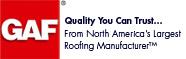 GAF Roofing Manufacturer