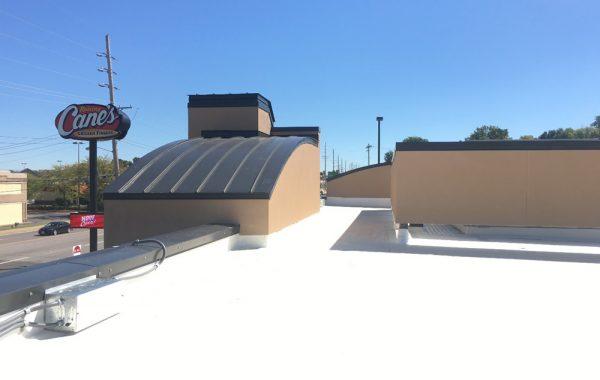 Raising Cane's TPO Roof